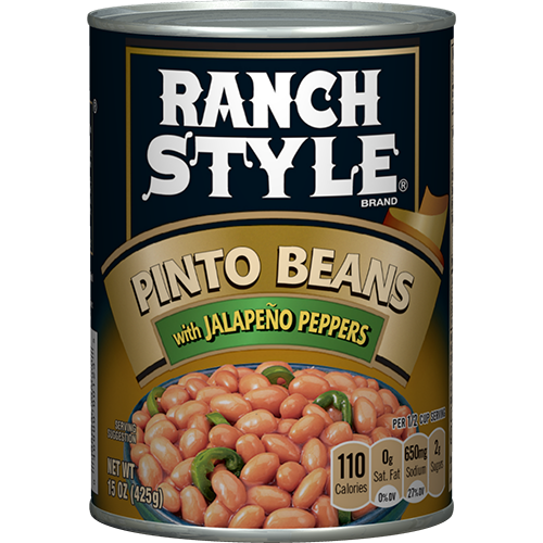 Pinto Beans With Jalapeno Peppers
